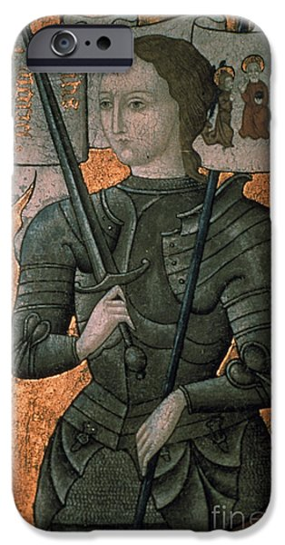 Aodcc iPhone Cases - JOAN OF ARC (c1412-1431) iPhone Case by Granger