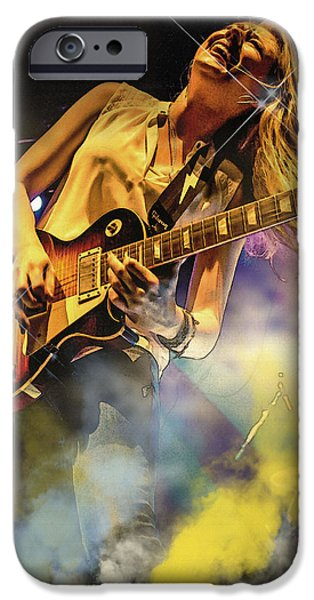 Michael iPhone Cases - Joanne Shaw Taylor iPhone Case by Don Kuing
