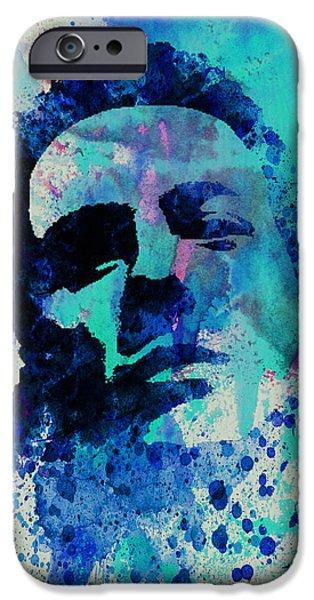 Joe Strummer iPhone Case by Naxart Studio
