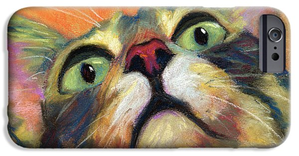 Alley Pastels iPhone Cases - Joey iPhone Case by Sandy  Lindblad