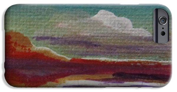 Young Paintings iPhone Cases - John B 2A iPhone Case by Maria Milazzo