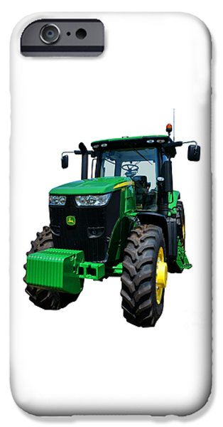 Best Sellers -  - Agricultural iPhone Cases - John Deere 7215R iPhone Case by Olivier Le Queinec