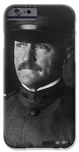 Wwi iPhone Cases - John J. Pershing iPhone Case by War Is Hell Store
