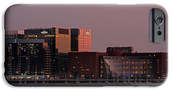City. Boston iPhone Cases - John Joseph Moakley U.S. Courthouse  iPhone Case by Juergen Roth