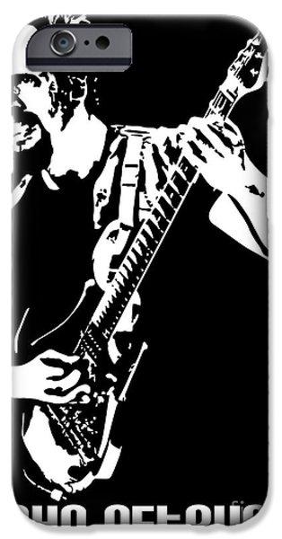 John Petrucci No.01 iPhone Case by Caio Caldas