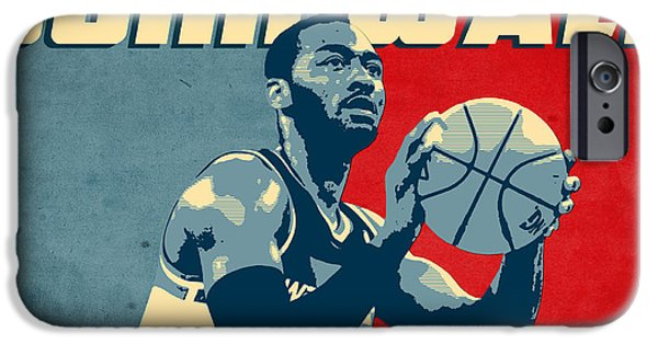 Paul Pierce iPhone Cases - John Wall iPhone Case by Semih Yurdabak