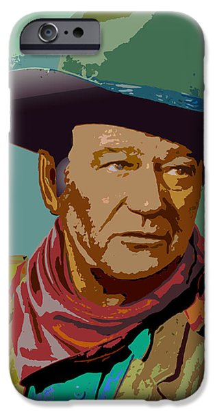 John Wayne iPhone Case by John Keaton