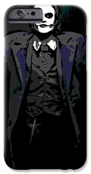 Joker iPhone Case by George Pedro