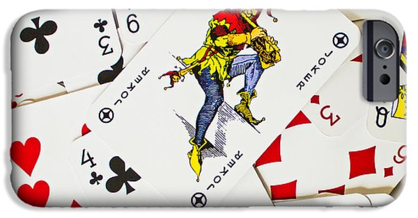 Playing Cards iPhone Cases - Joker In The Pack iPhone Case by Martin Newman