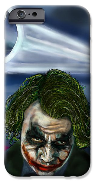 Joker Tribute iPhone Case by Vinny John Usuriello