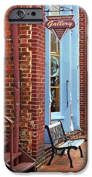 Jonesborough Tennessee Main Street iPhone Case by Frank Romeo