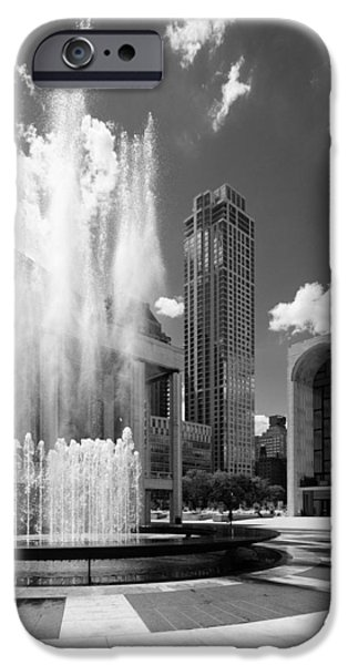 Lincoln iPhone Cases - Revson Fountain iPhone Case by Stephen Shilling II