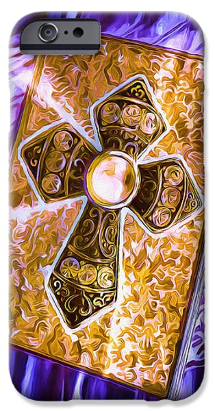 Destiny iPhone Cases - Journal of Destiny iPhone Case by Pennie  McCracken