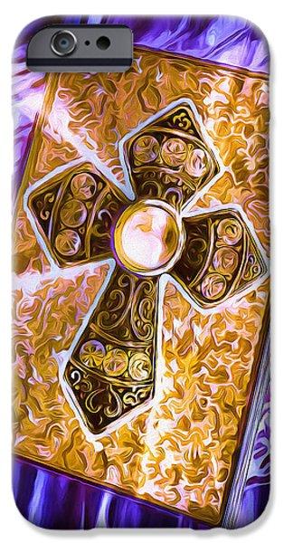 Destiny iPhone Cases - Journal of Destiny iPhone Case by Pennie  McCracken