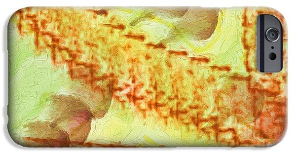 Surrealism Digital iPhone Cases - Journey Into Reality iPhone Case by Deborah Benoit