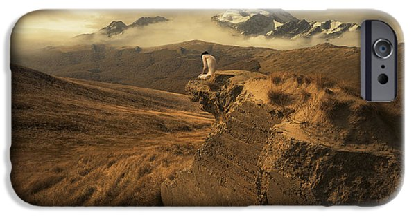 Ruin iPhone Cases - Journey Of One iPhone Case by Michal Karcz