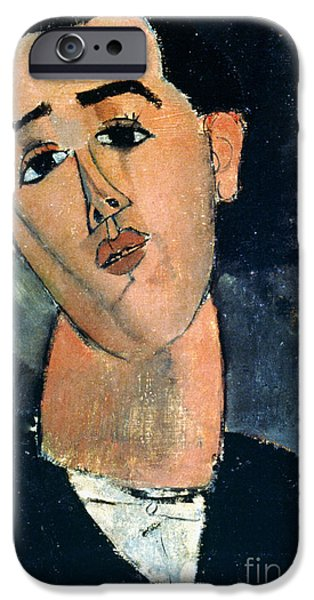 Painter Photographs iPhone Cases - Juan Gris (1887-1927) iPhone Case by Granger