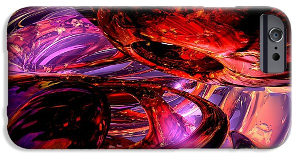 Jubilee Digital iPhone Cases - Jubilee Abstract iPhone Case by Alexander Butler