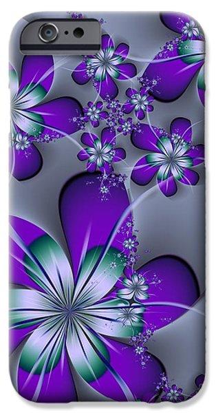 Michelle iPhone Cases - Julia The Florist iPhone Case by Michelle H