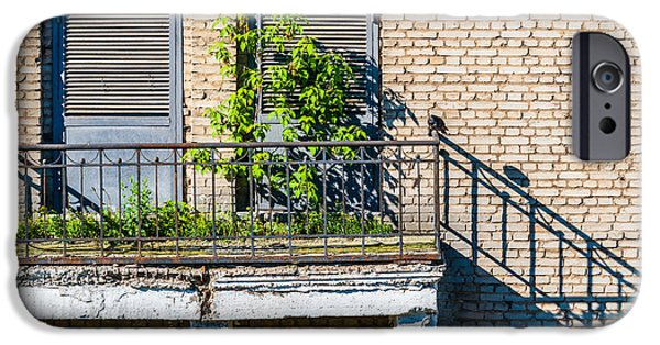Balcony iPhone Cases - Juliet does not live here anymore... iPhone Case by Alexander Senin