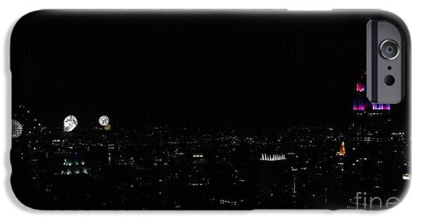 Empire State iPhone Cases - July 4th 2015 iPhone Case by Lilliana Mendez