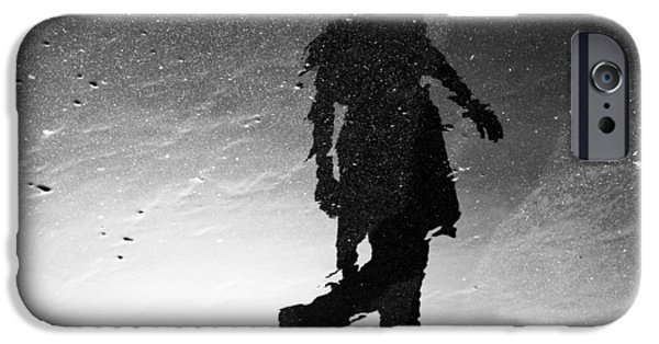 Dali Inspired iPhone Cases - Jumping At Shadows iPhone Case by Janh Hanh