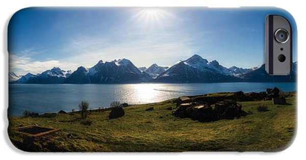 Ruin iPhone Cases - June afternoon iPhone Case by Tor-Ivar Naess