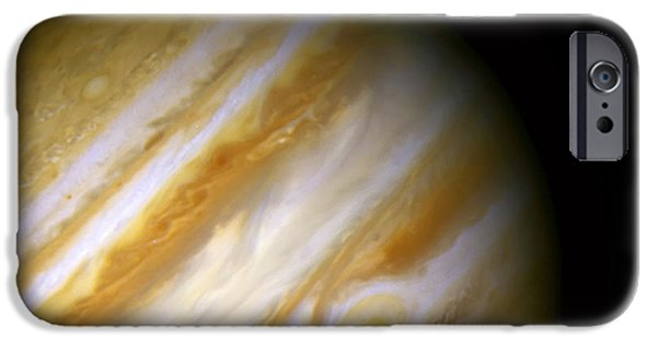 Nebula Images iPhone Cases - Jupiter and The Great Red Spot iPhone Case by The  Vault - Jennifer Rondinelli Reilly