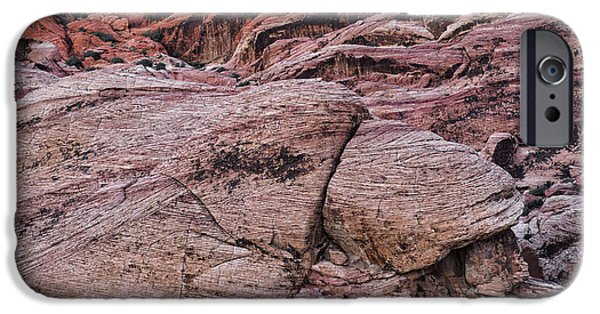 Red Rock iPhone Cases - Jurassic Park I iPhone Case by Marianne Campolongo