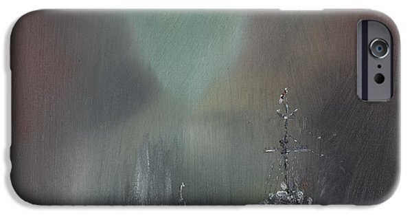 World War One Paintings iPhone Cases - Jutland iPhone Case by Vincent Alexander Booth