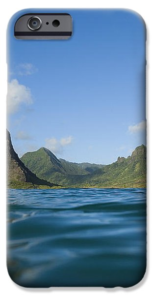 Kaaawa Valley from Ocean iPhone Case by Dana Edmunds - Printscapes