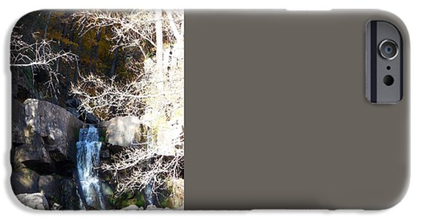 Overhang iPhone Cases - Kaaterskill Falls 11 iPhone Case by Lanjee Chee