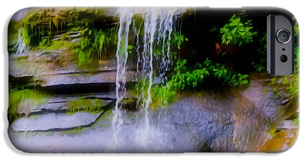 Overhang iPhone Cases - Kaaterskill Falls 17 iPhone Case by Lanjee Chee