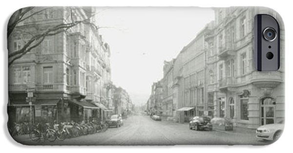 Best Sellers -  - Loose Style Photographs iPhone Cases - Kaiser Joseph Strasse in Freiburg iPhone Case by Marcio Faustino