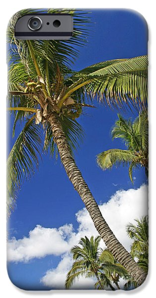 Overhang iPhone Cases - Kamaole Beach iPhone Case by Ron Dahlquist - Printscapes