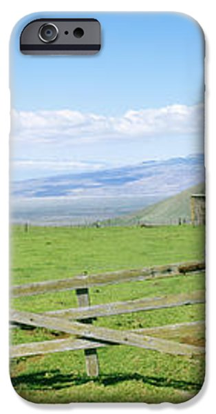 Kamuela Pasture iPhone Case by David Cornwell/First Light Pictures, Inc - Printscapes