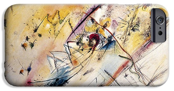 Aodcc iPhone Cases - Kandinsky: Light, 1913 iPhone Case by Granger