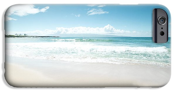 My Ocean iPhone Cases - Kapalua Blue iPhone Case by Sharon Mau