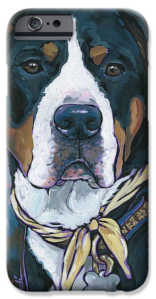 Nadi Spencer iPhone Cases - Katie iPhone Case by Nadi Spencer