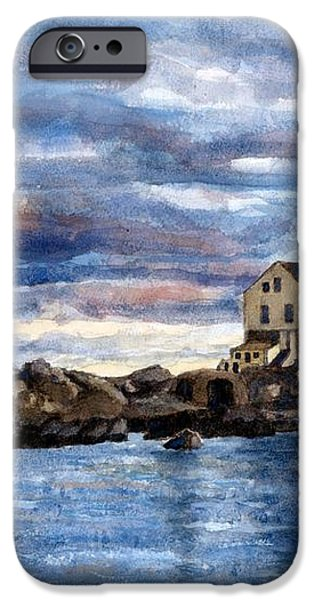 Katland lighthouse iPhone Case by Janet King