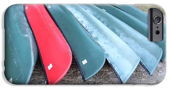 Canoe iPhone Cases - Canoe collection iPhone Case by Bill Zajac