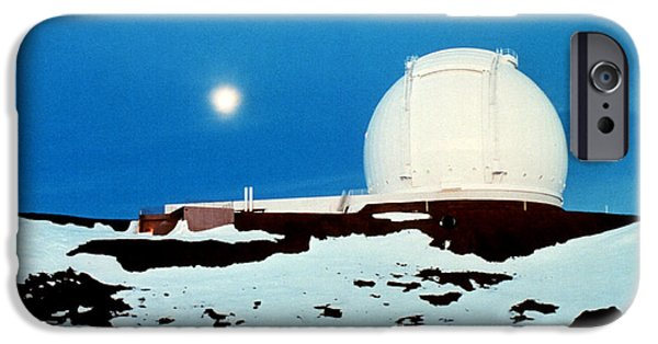 Keck iPhone Cases - Keck Observatory iPhone Case by Science Source