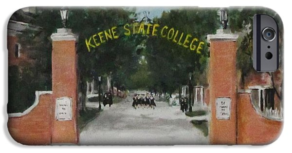 iPhone Cases - Keene State College iPhone Case by Jack Skinner