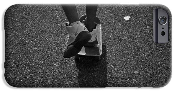 Jordan iPhone Cases - Keep pushin iPhone Case by Greg Moore