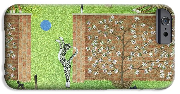 Garden iPhone Cases - Keeping on ones toes iPhone Case by Pat Scott