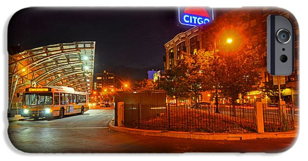 Boston Ma iPhone Cases - Kenmore Square Green Line Stop iPhone Case by Toby McGuire