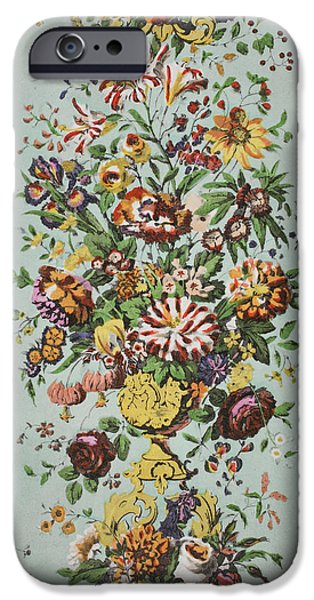 Flora Drawings iPhone Cases - Kensington Palace iPhone Case by Harry Wearne