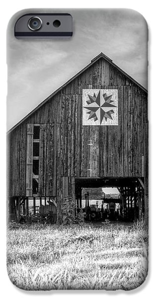 Kentucky Barn iPhone Case by Judith Pannozo