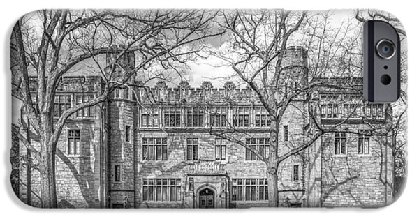 Annapolis iPhone Cases - Kenyon College Mather Hall iPhone Case by University Icons