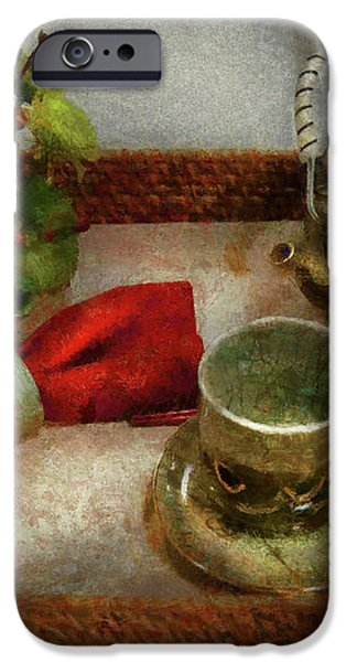 Kettle - Formal tea ceremony iPhone Case by Mike Savad